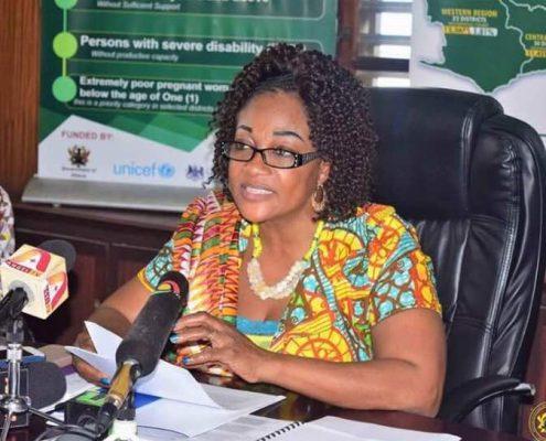 Honorable Otiko Afisah Djaba - Minister (Ministry of Gender, Children and Social Protection)